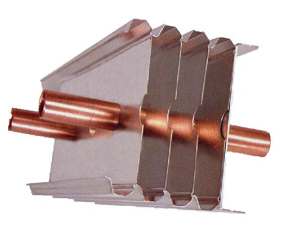 радиатор трубка с оребрением база